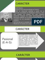 TIPOLOGÍAS DE LA PERSONALIDAD