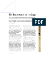 Heritage Importance