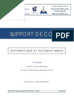 Support de Cours Automatique Et Automatismes (1)