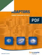 Fluiconnecto Adaptors Catalogue
