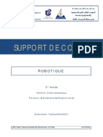 Support de Cours Robotique