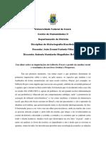 Trabalho de Historiografia Brasileira