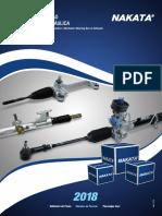 Nakata Catalogo Caixa Direção Mecanica e Hidraulica 2018