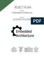 ProjectPlan_EmbeddedArchitecture