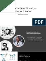 Historia de Anticuerpo Monoclonales