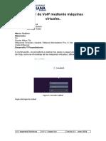 informe servidor Voip