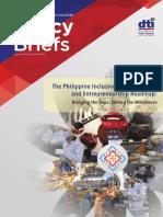 Inclusive Filipinnovation and Entrepreneurship Roadmap