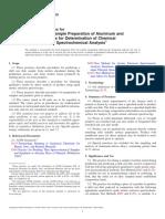 E716 − 10 Muestreo y preparación de muestras de aluminio y.pdf