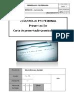 Carta Presentación-curriculum Vitae