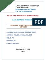 RESUMEN DE METODOLOGIAS DE IDENTIFICACION DE IMPACTO.docx