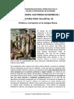 4.1  TALLER II-Política y corrupción en la antigua Roma.docx