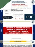 FOTOCATALISIS HETEROGENEO CON TiO2..pptx