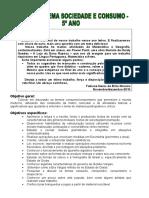 5º ANO Procedimentos metodológicos- soc e consumo- fabiane.doc