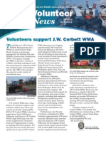 FWC Volunteer Newsletter Fall 2010