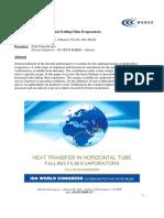 Heat Transfer in Horizontal Falling Film Evaporators.pdf