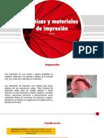 Técnicas y Materiales de Impresión