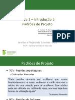 Aula 2 - Introdução a Padrões de Projeto.pdf