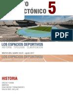 02 - Espacios Deportivos, Historia y Clasificación