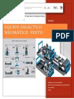 Equipo Didáctico Neumática