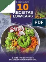 E-book 10 Receitas Low Carb