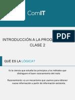 Clase 2 Introduccion a La Programacion (1)