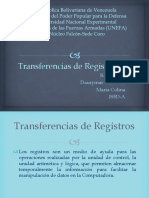 Logica de Transferencias de Registro