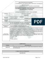 Informe Programa de Formación Complementari