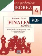 Gude Antonio - Cuadernos Practicos de Ajedrez-4 - Finales Tacticos, 2007-OCR, 49p