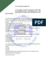 BCS-052 notes