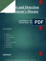 Presentation on Parkinson's.pptx