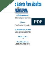 didactica especial de la fisica, tarea III, Alexis Ramirez 16-7134.docx