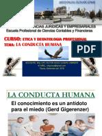 A.- Conducta Humana