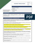 Cooperativa Pacifico - Funciones y Perfil de Puesto - Funcionario de Negocios