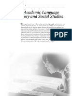 the academic language of histry and social studies