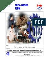 CBC Animal Health Care & Management NC III