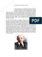 Vladimir Ilich Ulianov Lenin Biografia