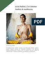 La Meditación Budista y Los Sistemas