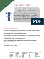 MINERALES DE HIERRO caracteristicas.pptx