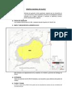 Reserva Nacional de Calipuy Trabajo