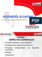 Unidad 1. Ingenieria Económica