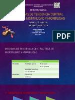 MEDIDAS DE TENDENCIA CENTRAL TASA DE MORTALIDAD Y MORBILIDAD.pptx