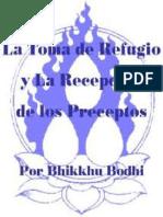 Bhikku Bodhi - La Toma de Refugio