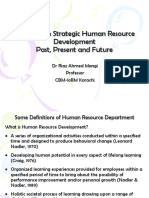 Research on Strategic HRD