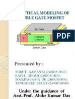 DOUBLE GATE MOSFET.pptx