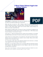 native lionel messi has established records for goals