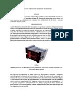Proceso de Fabricacion Del Molde de Inyeccion