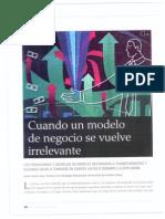 La necesidad de la transformación de los modelos de negocio - INCAE Business Review
