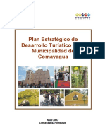 14. Plan Estratégico de Desarrollo Turistico Comayagua Final