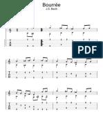 Guitar Pro - Bourrée