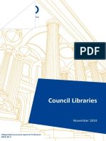 Victorian Auditor-General's Office Council Libraries Report